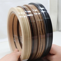 high gloss melamine mdf furniture wood color pvc plastic edge banding tape