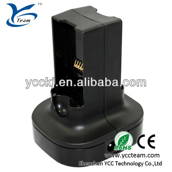 Popular! charge dock for xbox360 charger station/charging kit for xbox 360