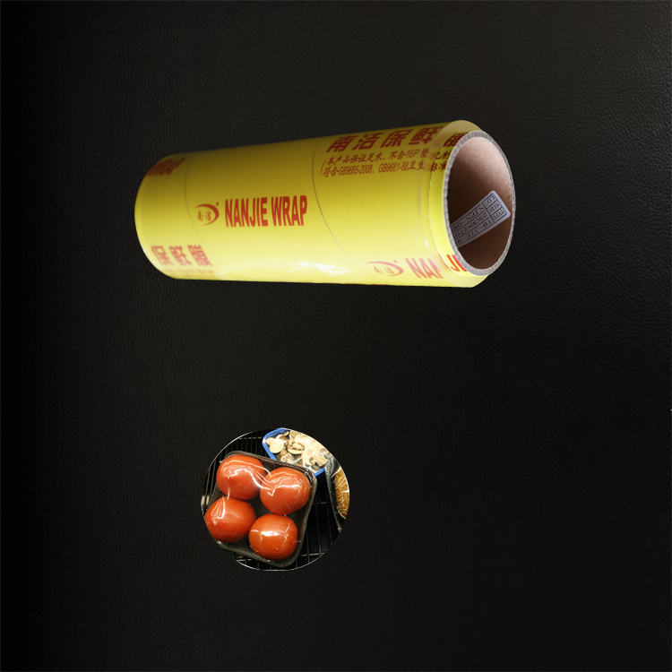 Extended china plastic food cover pvc cling film