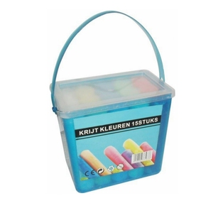 dustless kids sidewalk jumbo white colored barrelled chalk