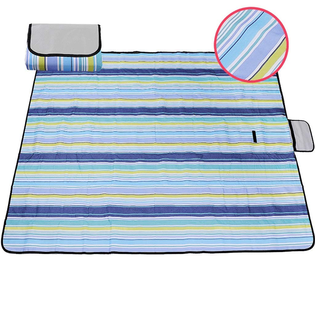 DONGLU Picnic Mat Summer Oxford Thick Waterproof Spring Mat Outdoor Mat (Color : 7#)