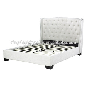 luxury fabric bed frame