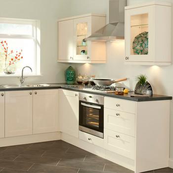 Factory Kitchen Furniture Solid Wood Modern Modular Kitchen Cabinet