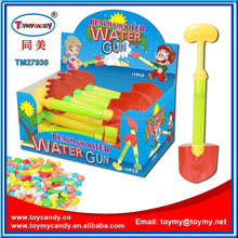 2016 shantou factory promotion candy plastic toys water shooter beach toy for kids