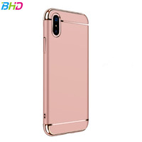 Factory wholesale Armor 3 in 1 Phone Case Cover Hard Plastic Case For iPhone 8