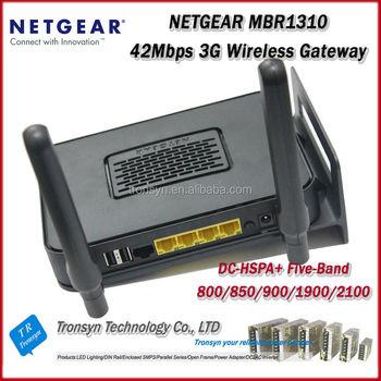 New Original Unlocked Netgear Dc-hspa 43 2mbps Netgear Mbr1310 192 168 1 1  Wireless Router With Lan Port - Buy Wireless Router,192 168 1 1 Wireless