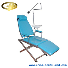 Easy take dental equipment China manufacturer supply folding dental chair portable dental chair unit