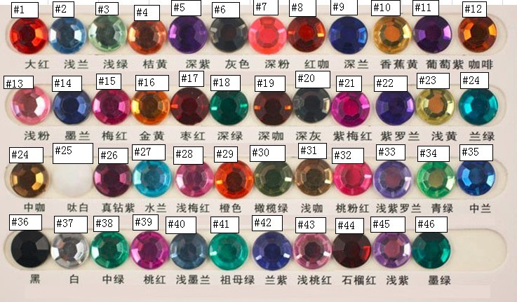 bead charms glass crystal bead ball charms birthstone bead charms hanging accessories for sandals bra garment bag zipper