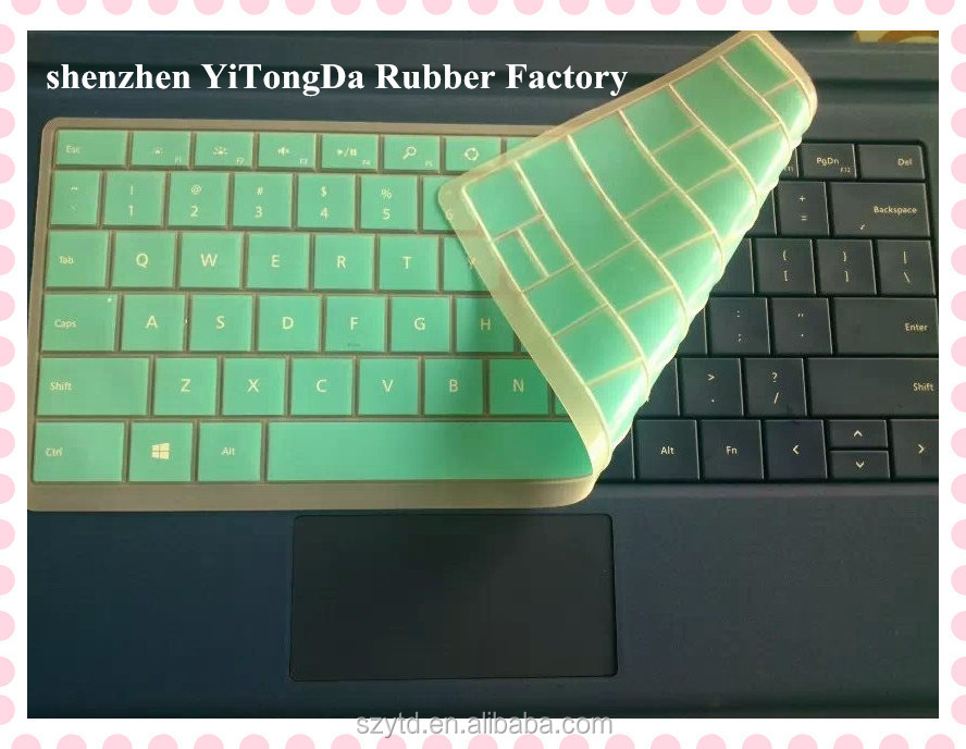Silicone Keyboard Cover For Microsoft Surface Pro3 - Buy Keyboard  Cover,Silicone Keyboard Cover,Silicone Keyboard Cover For Microsoft Surface  Pro3