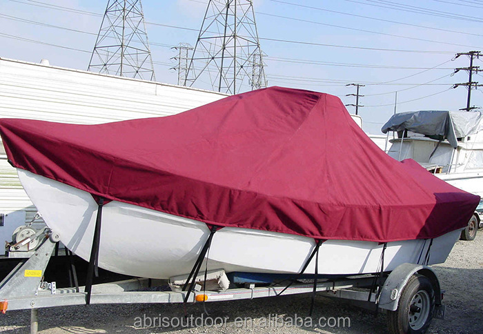 high quality fabric sun shade boat cover