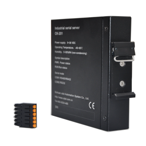 Guarantee of Quality FOB Price Dual RJ45 Interfaces Serial Devices to Ethernet Converter with Metal Shell Protection