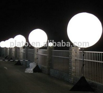 Outdoor 1 5m Inflatable Lighting Crystal Balloon Stand