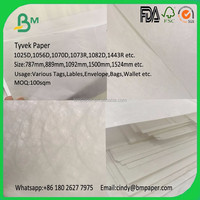 Non Woven tearproof washable dupont paper fabric