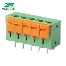 China factory Wanjie Screwless Terminal Block Connector(WJ142V-5.0/5.08)
