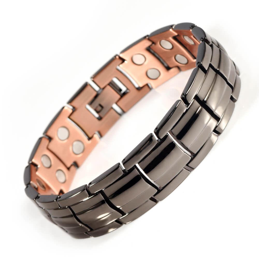Energinox Fashion Wholesale Men Health <strong>Energy</strong> Power Bio <strong>Magnetic</strong> Therapy Copper <strong>Bracelet</strong>