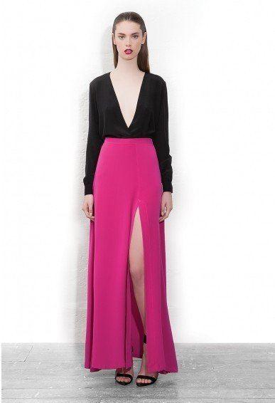 Get Quotations · 2015 Autumn Women Ladies Sexy High Waist Skirt Plus Size  7XL Maxi Split Skirt Casual Woman d797bbce05a3