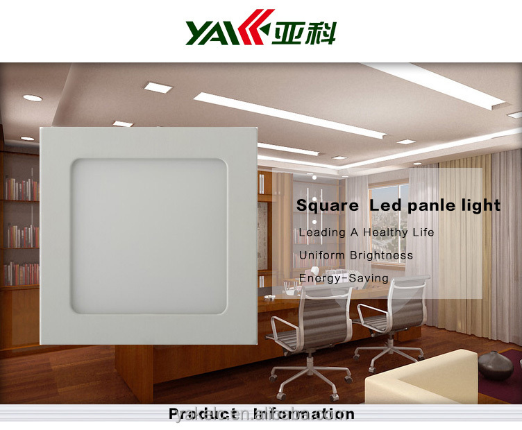 90*90 led panel ceilling lights ce rohs 3w