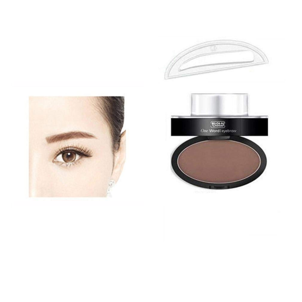 WensLTD Brow Stamp Powder Delicated Natural Perfect Enhancer Straight United Eyebrow