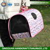 Pet Products Factory Indoor & Outdoor Soft Folding Travel Expandable Pink Dog Carrier Bag