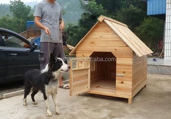 43+ Rumah anjing dari kayu terbaru