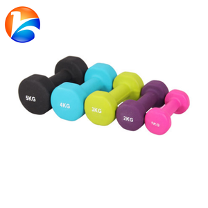 Hot sale hex head vinyl dipping dumbbell set