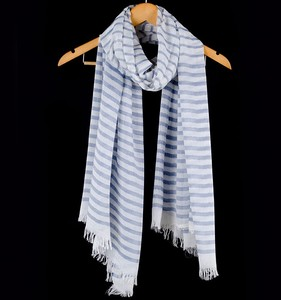 high quality Jersey fabric stripe pattern best Modal scarf factory