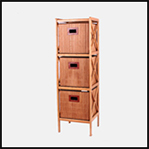 2019 Chinese wholesale three tier drawer vintage cabinets prices living room furniture bamboo