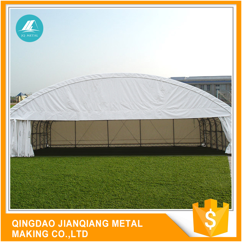 Over 15 Years Experience Uv Resistant JQR4536 Steel Frame Work Airplane Hangar For Sale