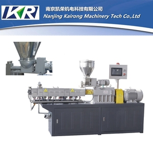 PET Film PVC Profile Extrusion Line For Shrinkable Cable Compounds