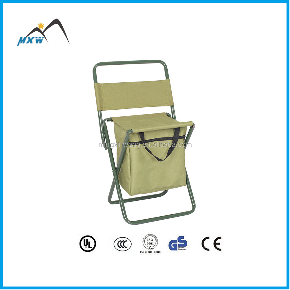 Convenience stainless steel folding stool chair