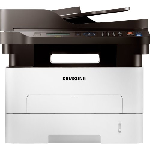 Samsung Xpress Sl-M2885fw Laser Multifunction Printer - Monochrome - Plain Paper Print - Desktop - Copier/Fax/Printer/Scanner - 29 Ppm Mono Print - 4800 X 600 Dpi Print - 29 Cpm Mono Copy - 1200 Dpi Optical Scan - Automatic Duplex Print - 251 Sheets Input - Fast Ethernet - Wireless Lan - Usb