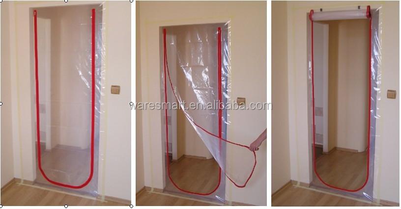 Zip Door Amp Dust Seal Stop Zip Door Kit Protect Curtain