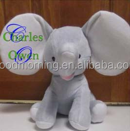 Monogram And Personalized Elephant Gift For Baby