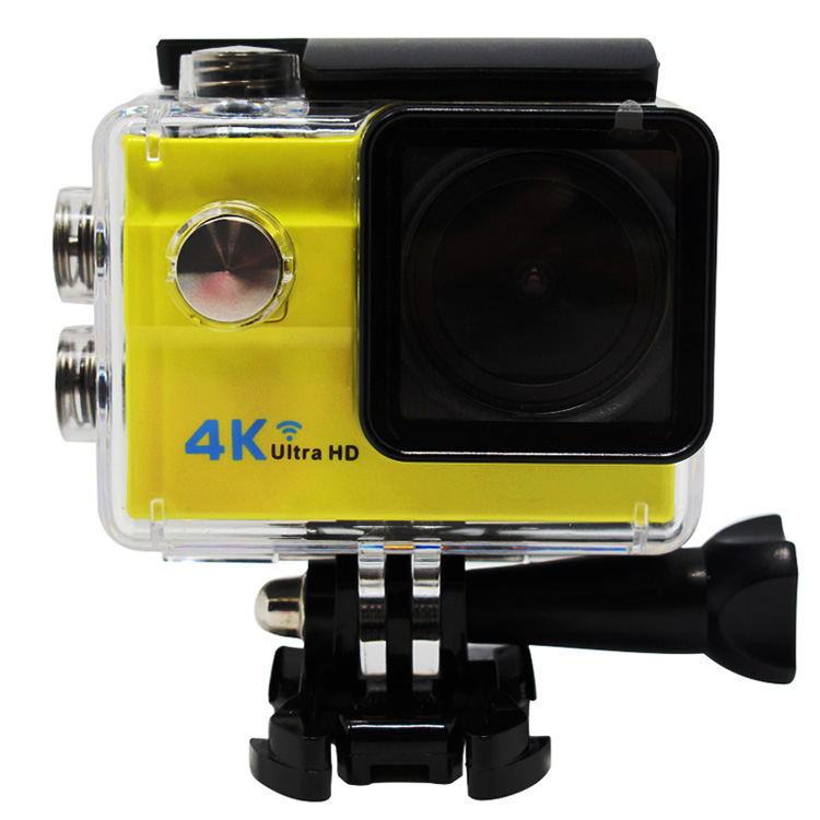 Moda HDking Q5H 4 k ultra hd wifi impermeabile mobius sport action camera videocamera