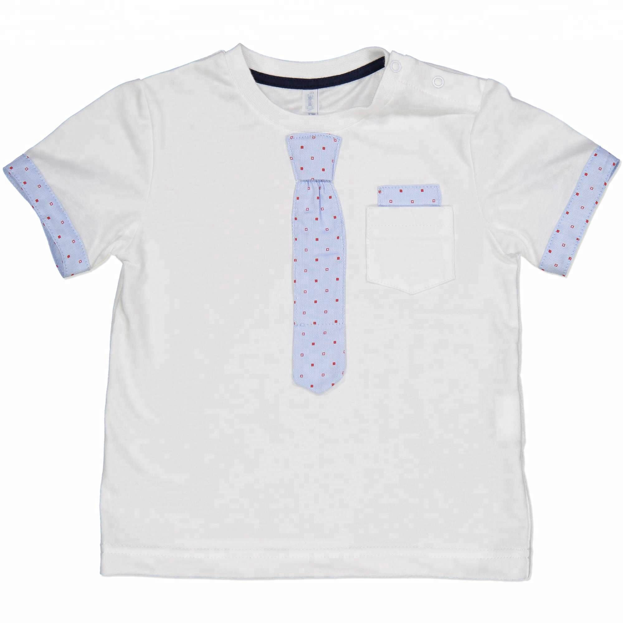 Fashion Kids Kleding Baby Boy T-shirts met Valse Stropdas