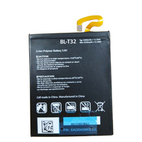 Shenzhen China factory rechargeable BL-T32 mobile phone internal battery for LG G6