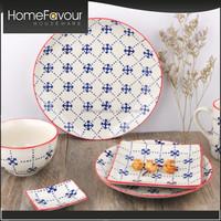 OEM Offered Manufacturer Living Room Decor Handpainted Table Dinner Set Porcelain
