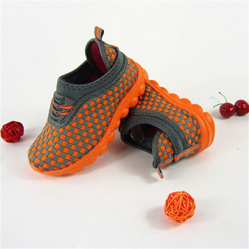 268553141c2 Get Quotations · Cheap Grid Girl Running Fashion Sport Travel Light Shoes  Gift For Children Sneakers Kids Leisure Trainers