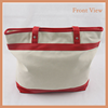 New Style Large Canvas Bag, Canvas Shopping Tote Bag With 2 Long Handles