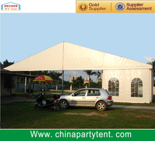 Outdoor garage or warehouse tent with aluminum structure for sale