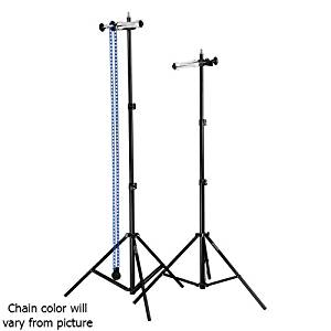 "Fotodiox Single Roller Paper Drive Background Backdrop Support System KIT with 2x 8'6"" Light Stands"