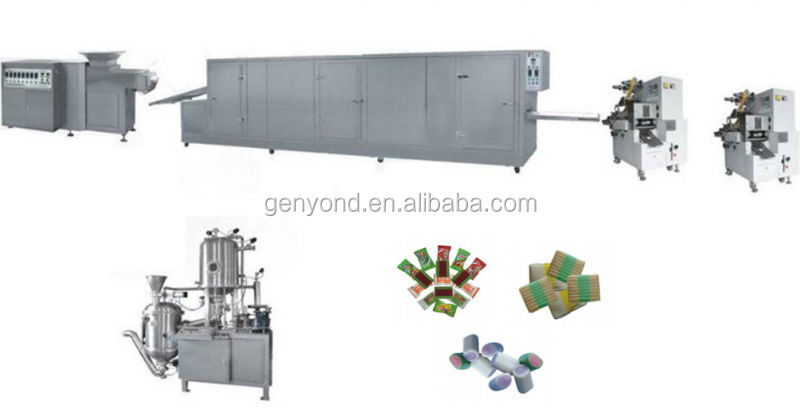 Chewing Gum Manufacturer/chewing Gum Processing Machine/chewing Gum  Manufacturing In Turkey - Buy Chewing Gum Manufacturer,Chewing Gum  Manufacturing