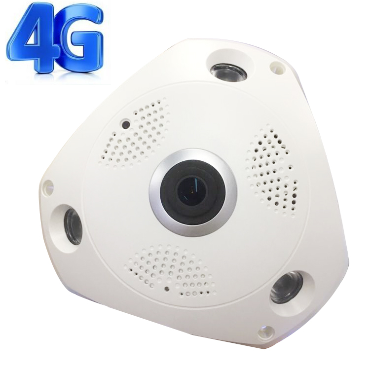 Standalone 3G 4G network 360 degree car security bus camera system