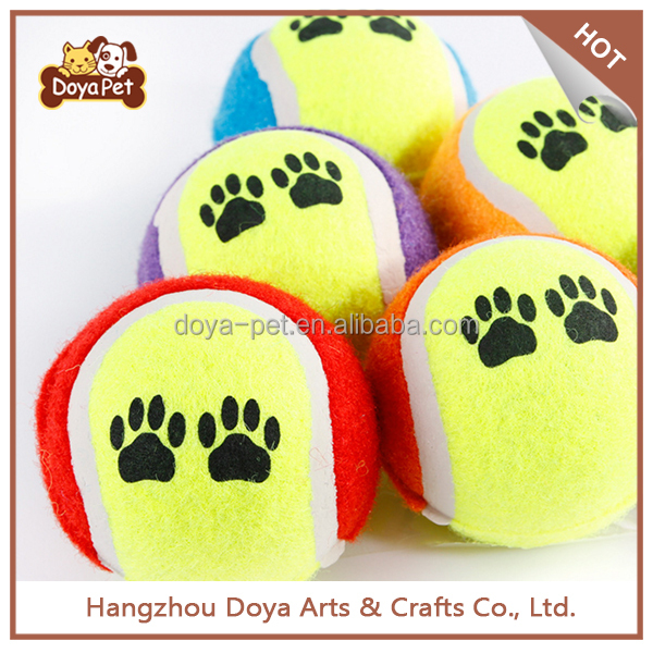 Custom Non-toxic Pet Dog Tennis Ball Chew Toy For Wholesale