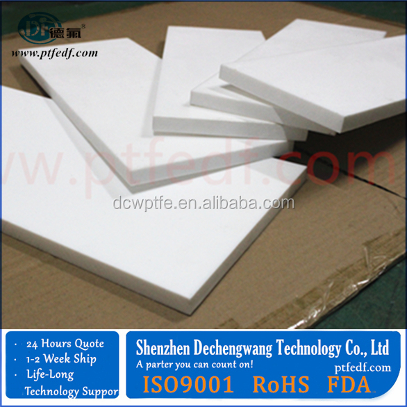 molded ptfe sheet 600*600mm, 1000*1000mm, normal size