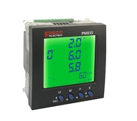 PM835 96*96mm digital power factor voltage current meter