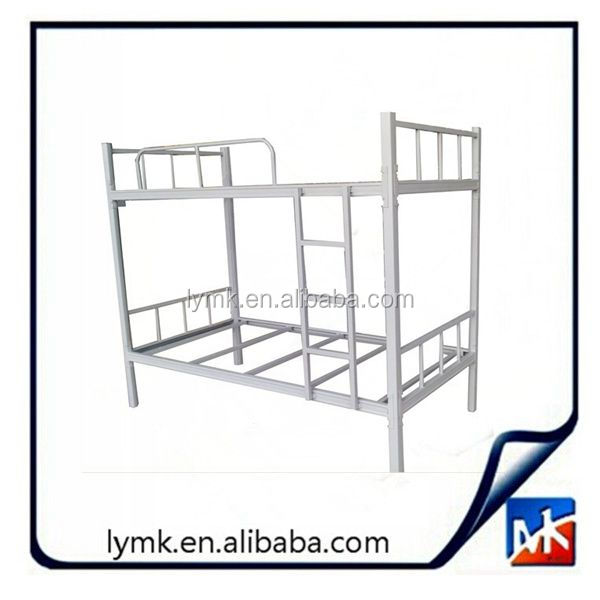 Hot sale MK steel office furniture supplier metal school dormitory student bed frame with storage locker cabinet hostel bunk bed