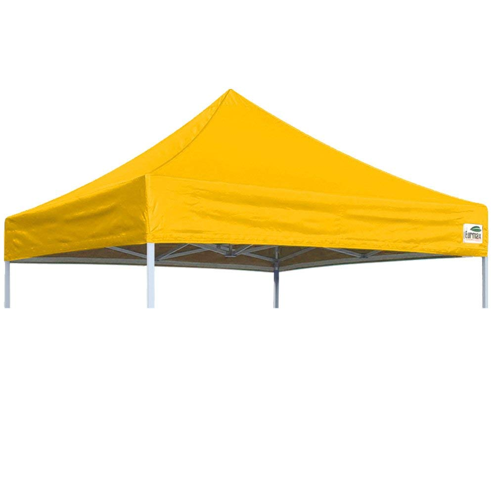 Get Quotations Eurmax Pop Up Canopy Top Gazebo Tent Cover Replacement Only 8x8 Gold