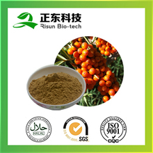 free sample raw material seabuckthorn fruit extract 10:1 powder