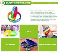 Advertising Silicone Bangles And Bracelets - Buy Bracelet Blanks ...